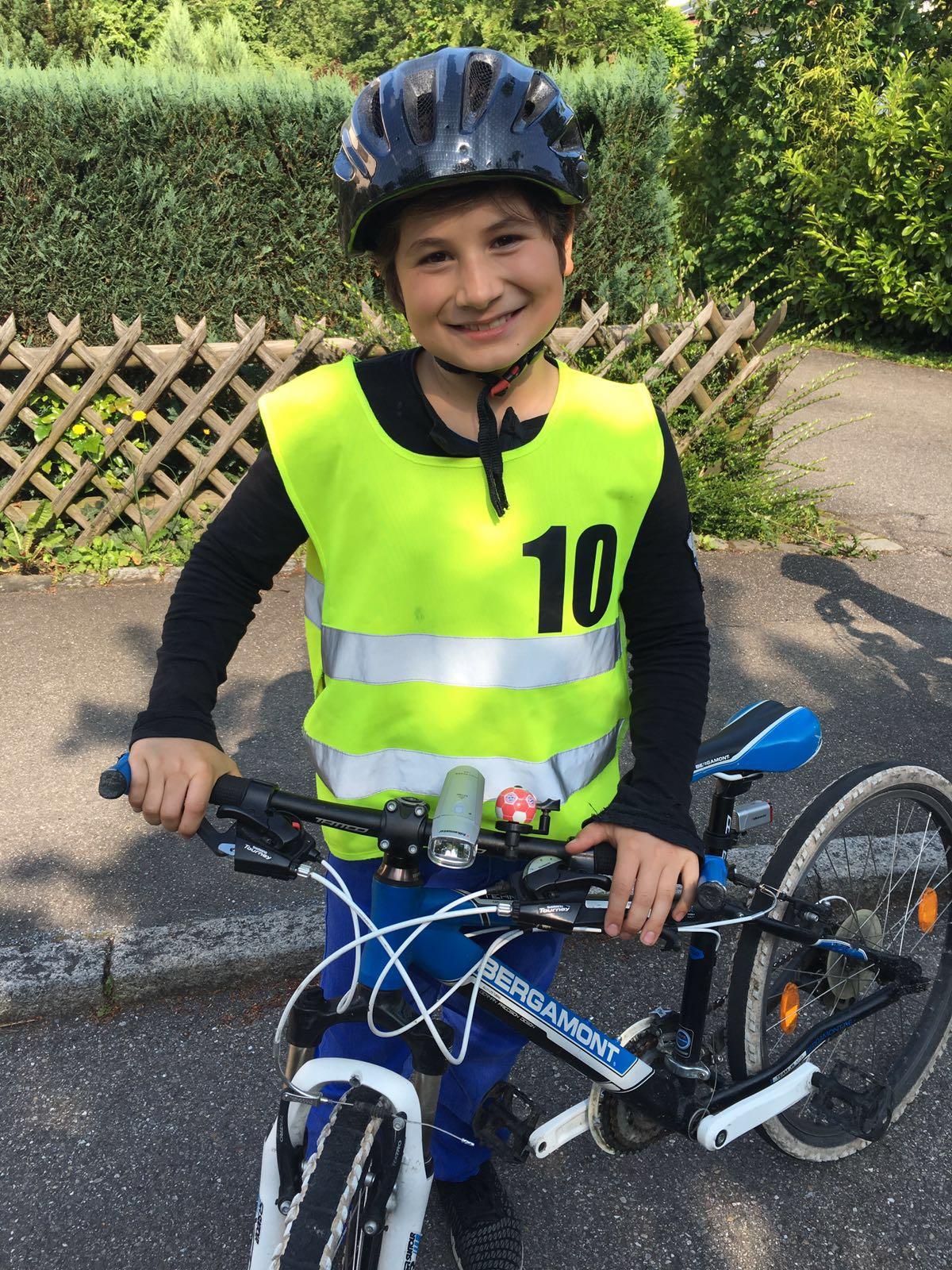 Luke Fahrradprüfung